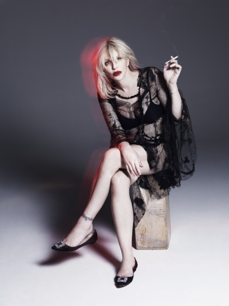 Courtney Love by Paola Kudacki for Garage Magazine No.5