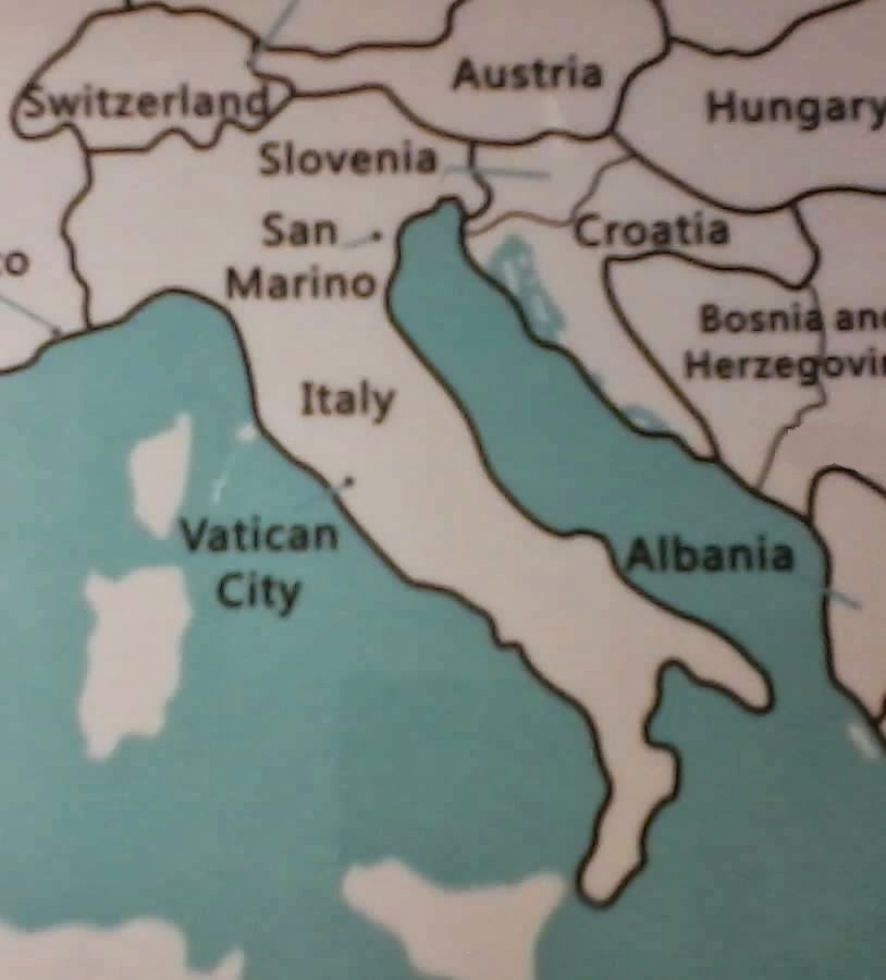 Italian Peninsula Map That is The Italian Peninsula