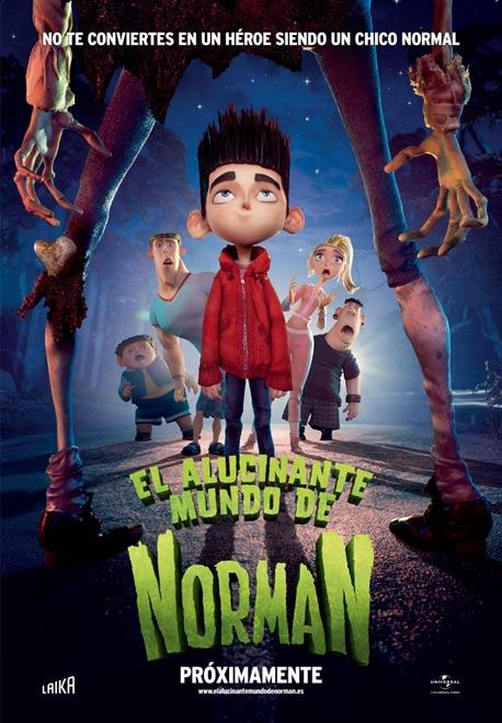 Poster El Alucinante Mundo de Norman 2012