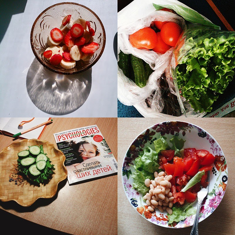instagram food collage