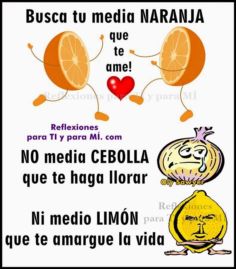 Busca tu media naranja