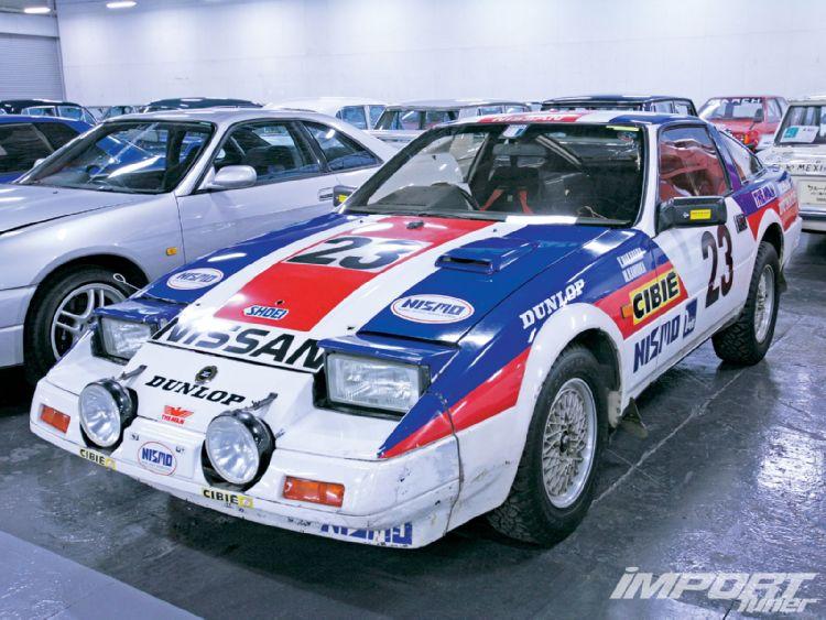 日本車, 日産, クラシックカー, Nissan 300ZX Z31 Fairlady Z, stary japoński samochód, youngtimer, JDM, sportowy, zdjęcia, fotki, sport, wyścigi, racing