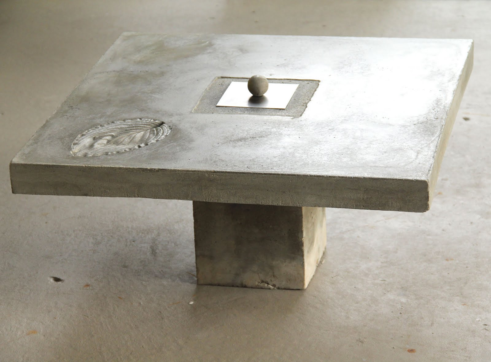 Art Studio The New Concrete Fireball Coffee Table