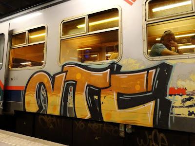 NTC crew graffiti
