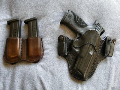 My M&P9 in a Garrity IWB holster paired with a Nightingale magazine pouch.