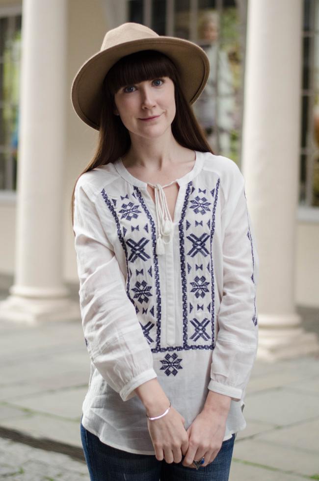Embroidered Folk Tunic