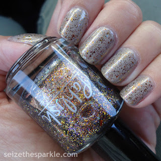 Pahlish Autumn People & SinfulShine Prosecco