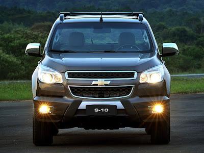 Fotos da nova Chevrolet S10 - 2012 4