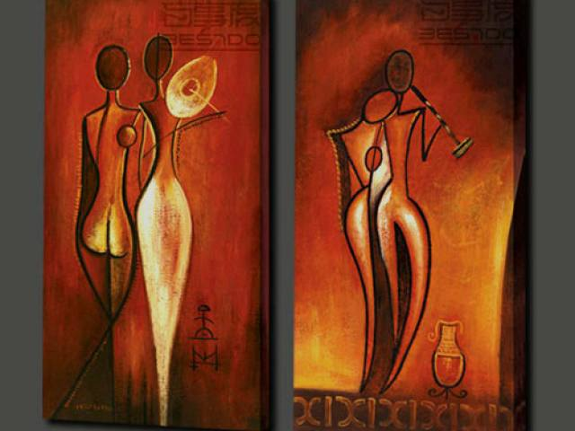 Imagination painting canvas painting for Three canvas painting ideas