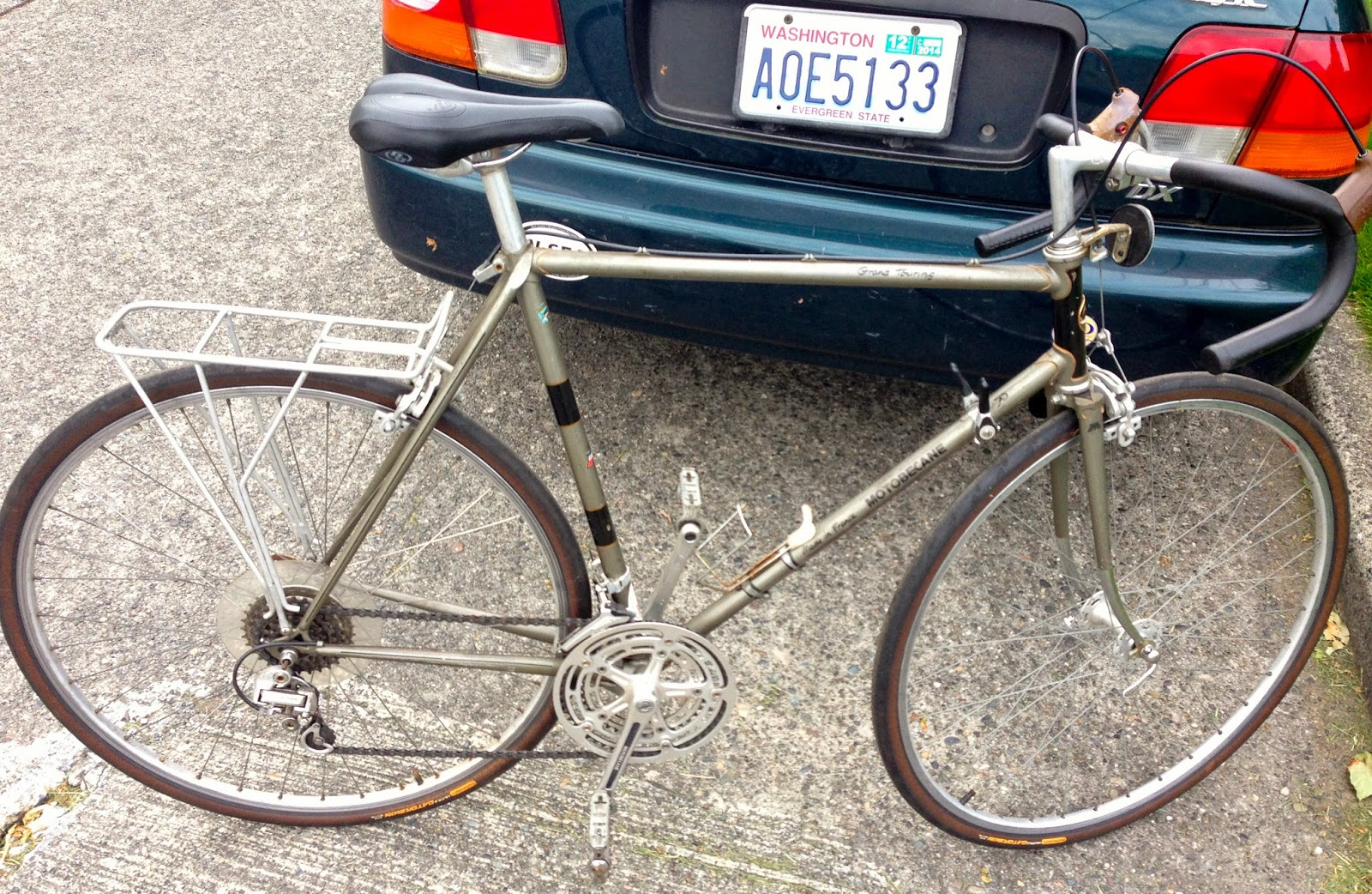 Ryan\'s Rebuilds: 1978 Motobecane Grand Touring.....A moment of weakness