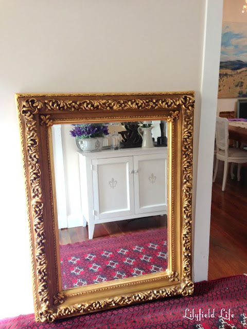 Beautiful Gilt ornate frames mirror for sale by Lilyfield Life