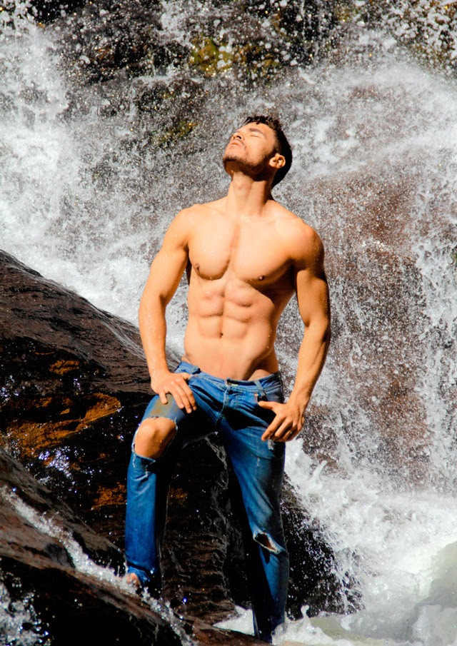 Robert Marques, Mister Ouro Preto 2015 - Foto: Marcos Januário