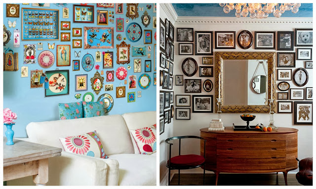 Interior Ideas - Picture Walls from sheridanandroseuk.blogspot.com