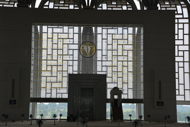 Steel Mosque Putrajaya payer hall