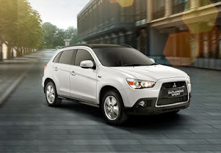 Aerodynamic Side View outlander sport