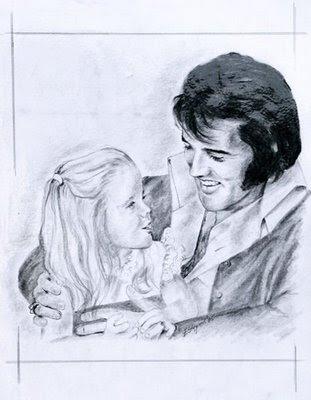 Desenho do Elvis