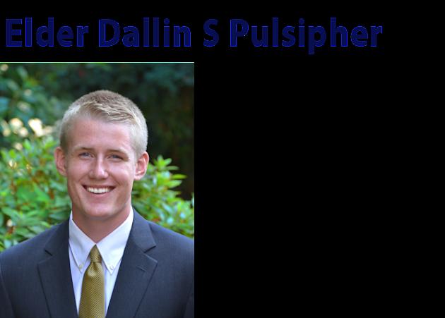 Elder Dallin S Pulsipher