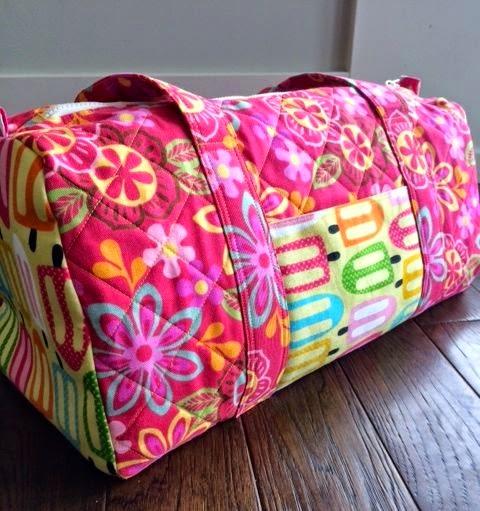 live.faith.homeschool.[sew].: Travel Handmade for Little Girls ... : quilted duffle bag pattern - Adamdwight.com