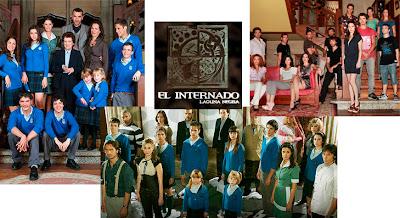 Fotos grupales de la serie El Internado
