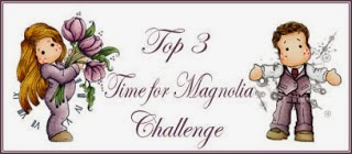 I made it to TOP 3 at Time For Magnolia Challenge #41 - Anything Goes