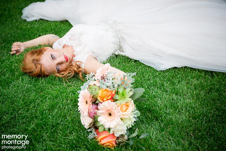 vintage Cascade Garden wedding in Yakima WA by Memory Montage Photography
