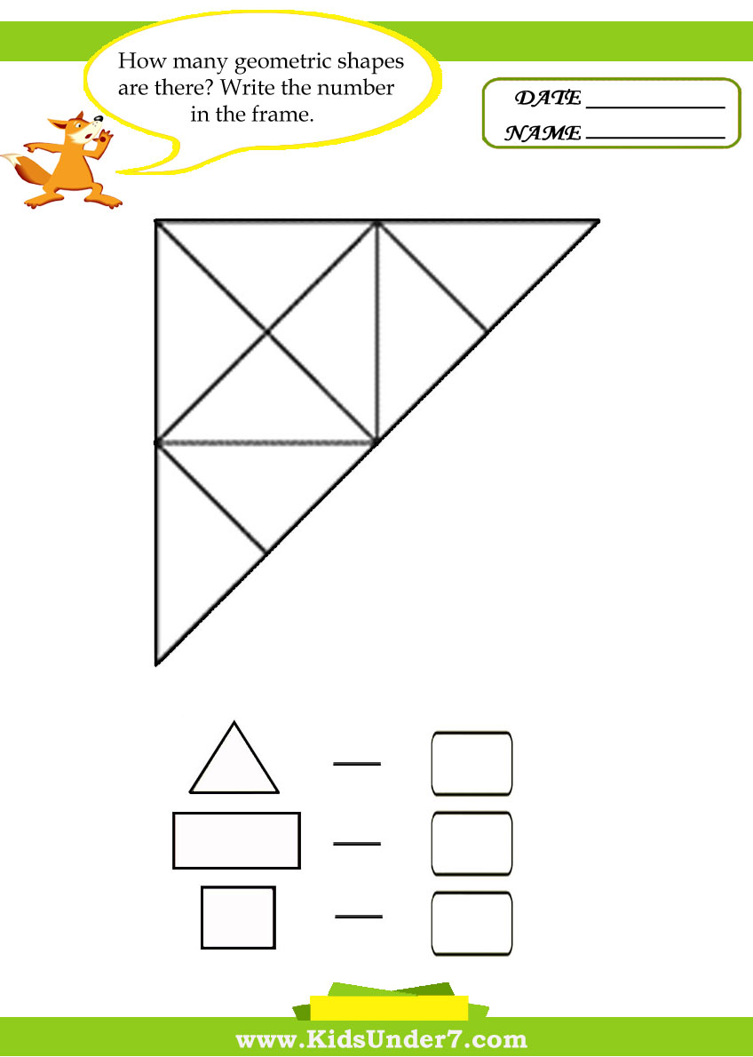 ... Worksheets in addition Geometric Shapes Worksheets. on plane shapes