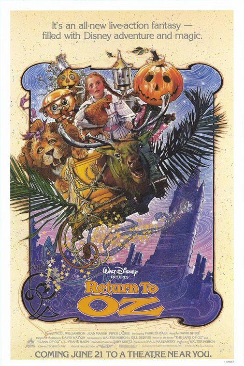 Return to Oz movie poster
