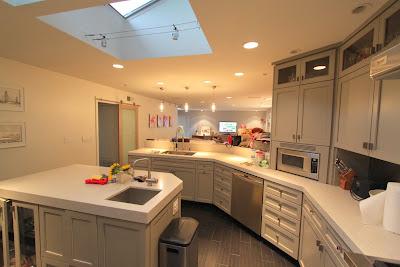 Mid-century modern remodel kitchen
