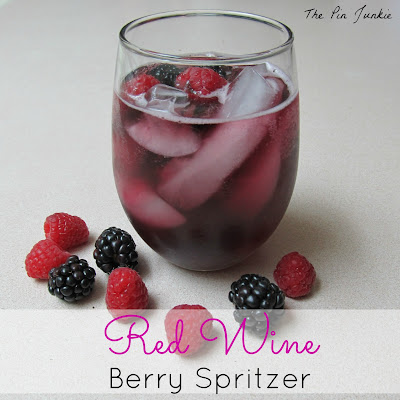 Red Wine Berry Spritzer
