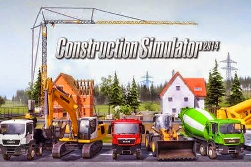 Construction Simulator 2014 1.12 MOD APK+DATA (Unlimited Money+Normal)