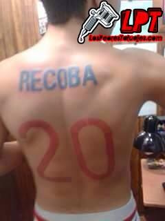 Tatuaje camiseta de fútbol