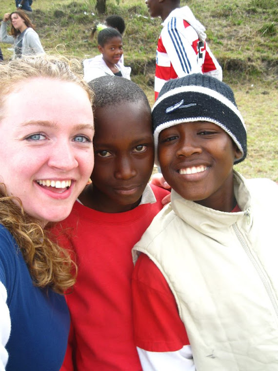 Esther in Swaziland a few years ago