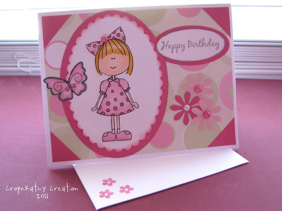 CROPNKATHY 2 more Birthday cards – Designs of Cards for Birthday