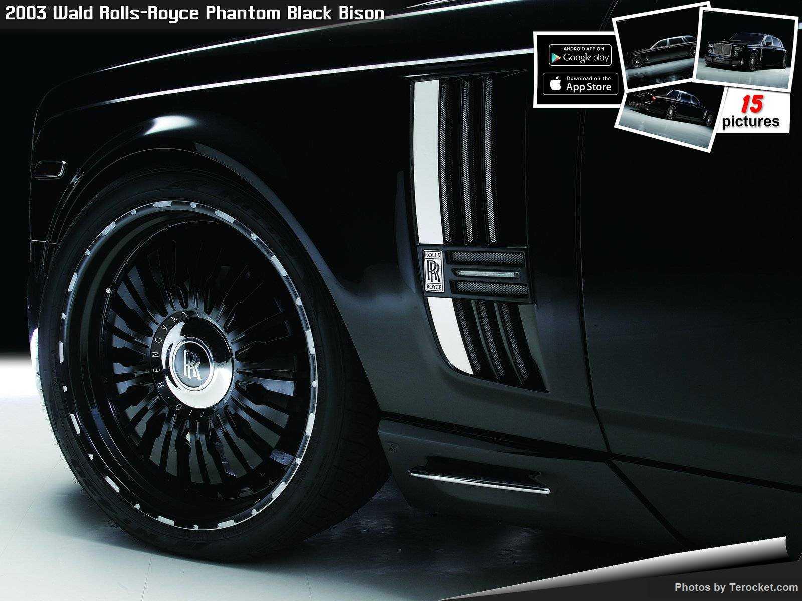 Hình ảnh xe độ Wald Rolls-Royce Phantom Black Bison 2003 & nội ngoại thất