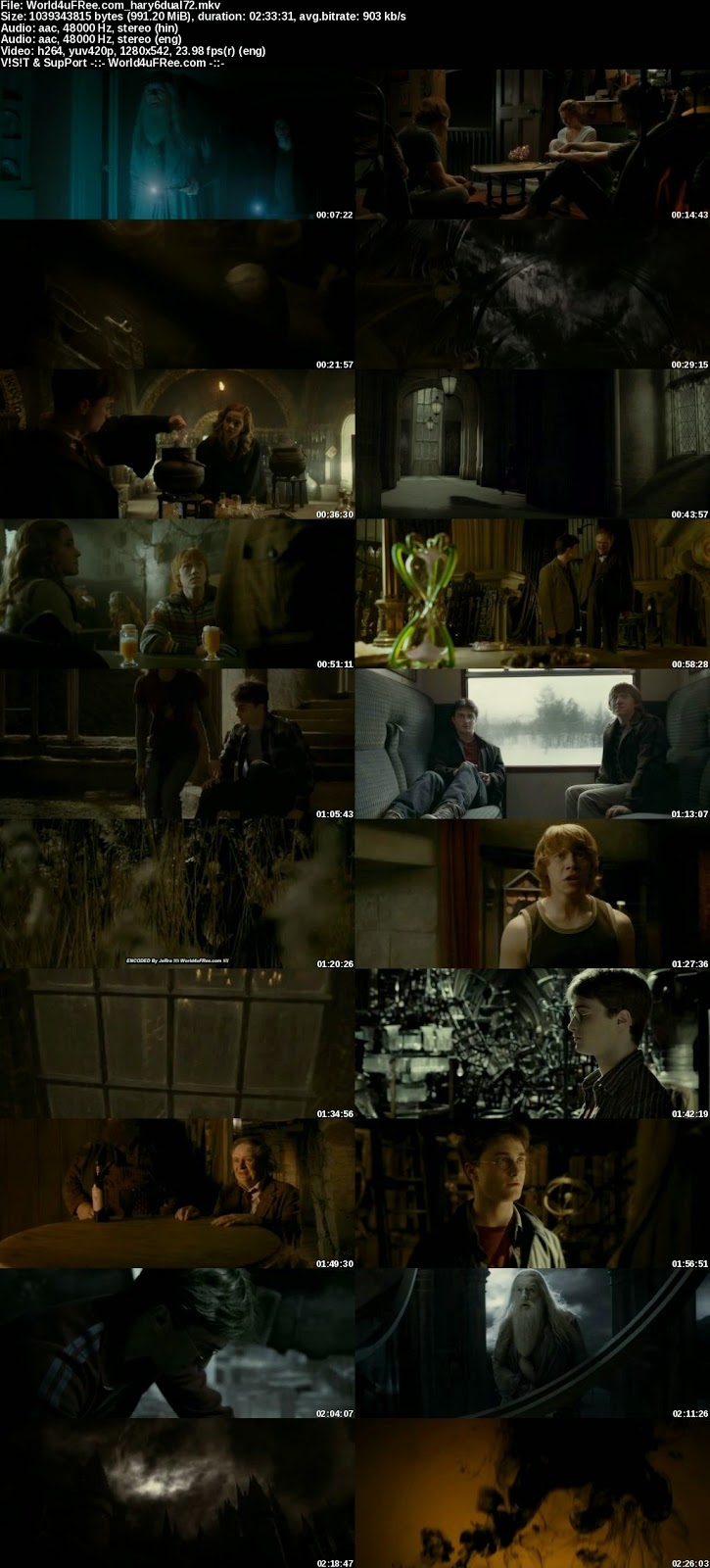 harry potter and the half blood prince 2009 free movie