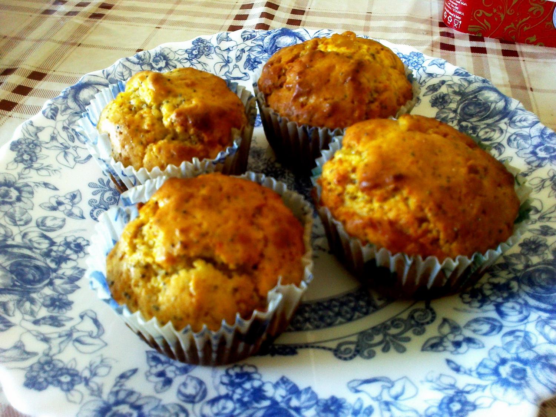 Portakallı Haşhaşlı Muffin 63