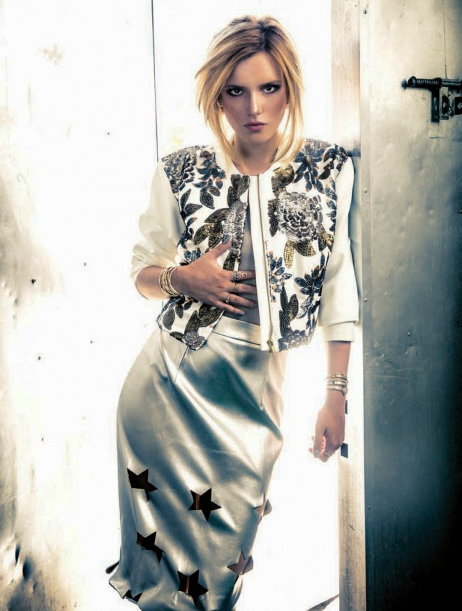 Bella Thorne goes edgy and dark for 360 Magazine's October 2014 photoshoot