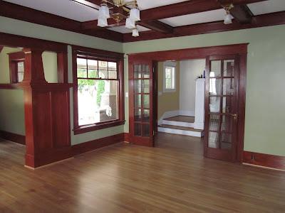 Laurelhurst Craftsman Bungalow Living Room Photos