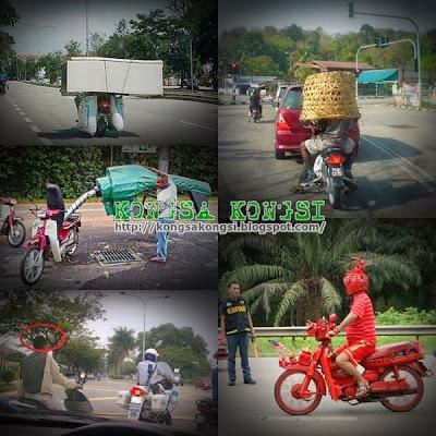 Ragam-ragam Penunggang Motosikal Di Malaysia