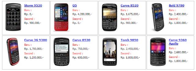 harga bb blackberry 1