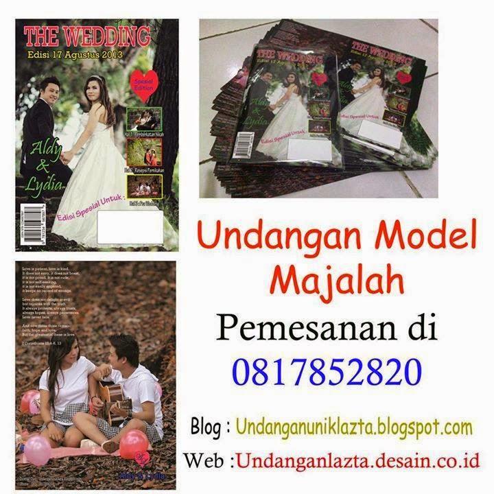 Undangan Model Majalah