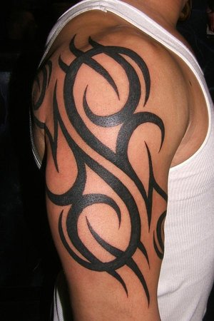 Tribal sleeve tattoos-15