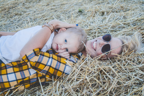 Plaid + a Pumpkin Patch