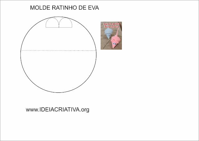 Como fazer um Ratinho de EVA