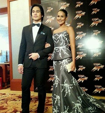8th Star Magic Ball Couple Piolo Pascual and Iza Calzado