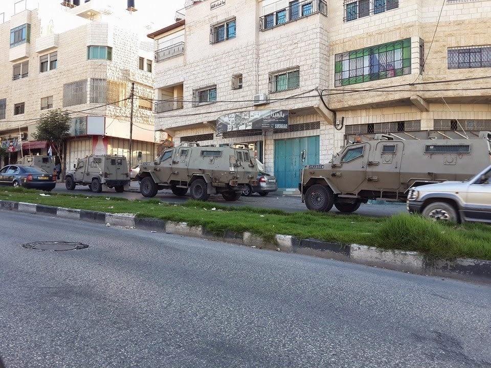 خطف ثلاثة جنود صهاينة في مدينة الخليل المحتل
