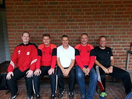 B-Jugendkompetenzteam von links: Timo, Benti, Jörg, Franz-Josef und Marko