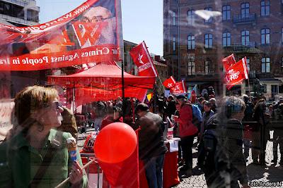 1 maj, Göteborg, första maj, demonstration, arrangemang, tal, talare, demonstrationståg, järntorget