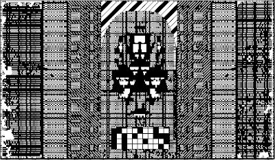 pixel art, macpaint, old school, B/W, computer art, UNTITLED 14