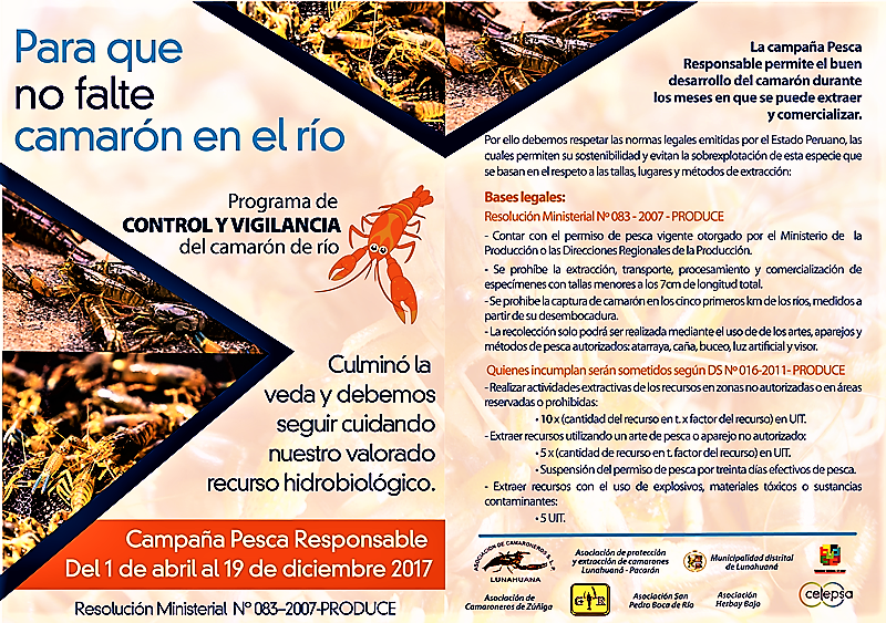 Campaña Pesca Responsable - CELEPSA